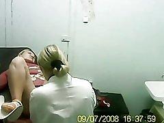 Blonde bezocht mijn arts.
