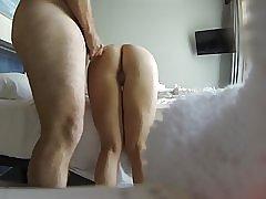 Mijn vriend eikels mijn vrouw op verborgen cam